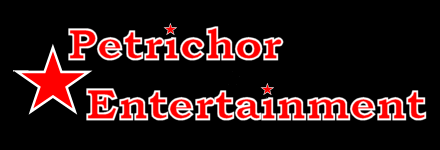 Petrichor Entertainment Logo