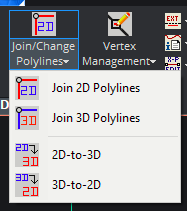 Polyline Tools — Join / Change Polylines